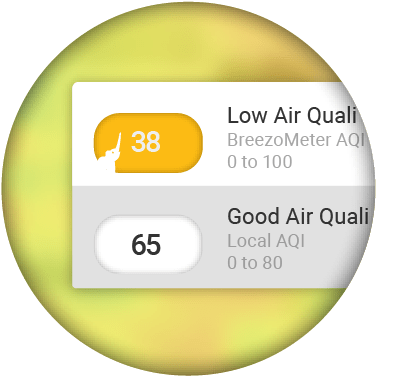 Worldwide Air Quality with Local Indexes